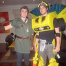 Photo #2 - Me and my brother (he is dressed as link)