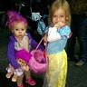Photo #2 - Arianna as a Treasure Troll and her cousin as Snow White.
