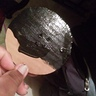 Photo #6 - Cut cardboard in a 3 inch circle the paint it black
