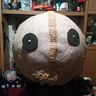 Photo #10 - Then attach eyes to burlap