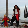 Photo #3 - Pirate Dad and Parrot Son