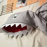 Photo #7 - Shark Hoodie completed and ready to wear.