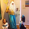 Photo #5 - King triton surprising his mermaids
