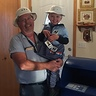 Photo #6 - The real letter carrier with the pretend letter carrier