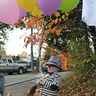Photo #5 - Mr. Fredrickson with cane and balloons