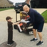 Photo #1 - Delivering treats to a neighbor