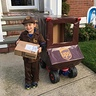 Photo #1 - Happy Halloween...ready to start delivering packages