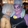 Photo #4 - I kept getting stopped to take pics, this guy was someone I knew who went as a 'male ursula' lol