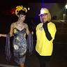 Photo #7 - Me (left Van Gogh costume) and my mom (Minion)