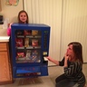 Photo #1 - Vending Machine Girl:  Doritos got stuck!