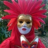 Photo #4 - two hand painted masks