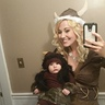 Photo #3 - Arri with mama (my costume is not homemade)