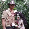Photo #1 - Walking Dead Zombie and Rick Grimes