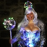 Photo #1 - Disco queen with strobe light