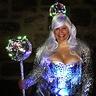 Photo #1 - Disco queen with strobe light