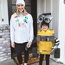 Photo #1 - Wall•E and mama - dressed as Eve