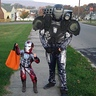 Photo #1 - little Iron Man, and big War Machine