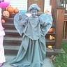 Photo #1 - Weeping Angel in alert pose.