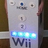 Photo #2 - Wii remote lights up
