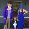 Photo #1 - Willy Wonka, Violet & their little Oompa Loompa!