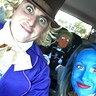 "Photo #2 - On our way to the ""Chocolate Factory"" for some trick or treating!"