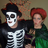 "Photo #3 - My husband dresses as the skeleton from the ""Put a Spell On You"" scene."