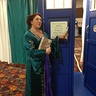 Photo #3 - Stepping into TARDIS!