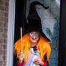 Photo #3 - Witchy Poo at the door