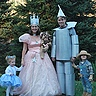 Photo #1 - Wizard of Oz homemade costumes
