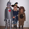 Photo #1 - The Wizard of Oz costumes: Tin Man, Scarecrow and Cowardly Lion