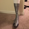 Photo #3 - Duct tape form of right boot