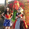 Photo #1 - Wonder woman, Poison Ivy, Harlequin