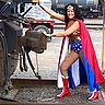 Photo #2 - Crystal as Wonder Woman