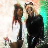 Photo #1 - my friend ashley as a female pimp and me as xmen movie STORM