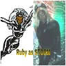 Photo #3 - classic storm pic and me aka addias as storm