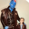 Photo #1 - Yondu teaching young Star-Lord Intimidation