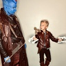 Photo #3 - Yondu teaching young Star-Lord to shoot