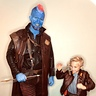 Photo #10 - Young Star-Lord teaching Yondu to Lighten up