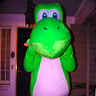 Photo #1 - Dad as Yoshi