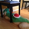 Photo #6 - Yoshi under chair