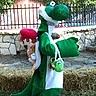 DIY Super Mario Yoshi Costume