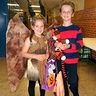 Photo #3 - Maleficent with her brother Calvin (and Hobbes)