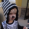 Photo #2 - Zebra Trick-or-Treats for the First Time!