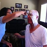 Photo #5 - Final Step: Applying the make-up