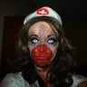 Photo #2 - Halloween 2012 Zipper Zombie Nurse