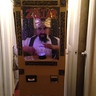 Photo #2 - Zoltar with lights in costume lit