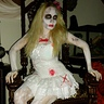 Photo #2 - Zombie Barbie at her dead throne
