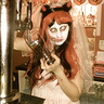 Photo #1 - Zombie Bride serving beer