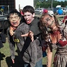 Photo #4 - Photo after the 5k, the zombie won by a head.