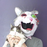 Photo #1 - Jean Paul (the cat and the mask)